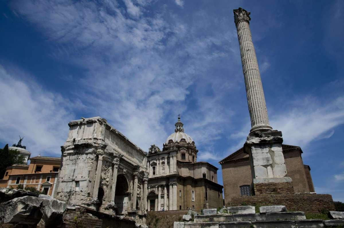 Roma forumu Fokas Sütunu