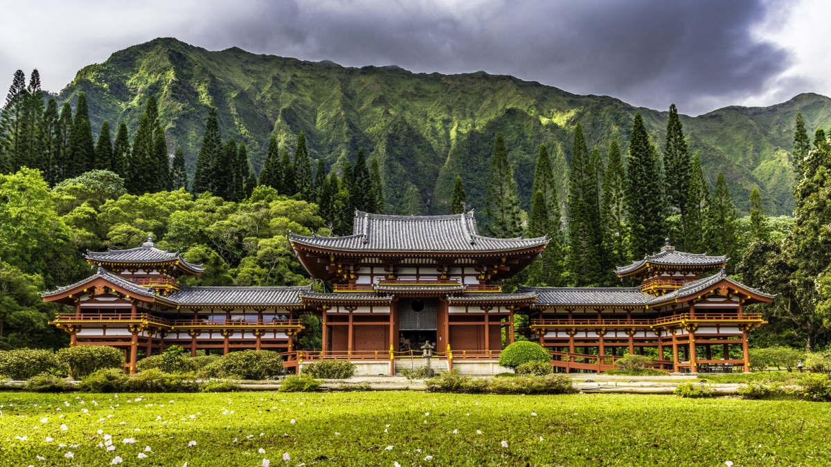 Byodo-In Japon Budist Tapınağı