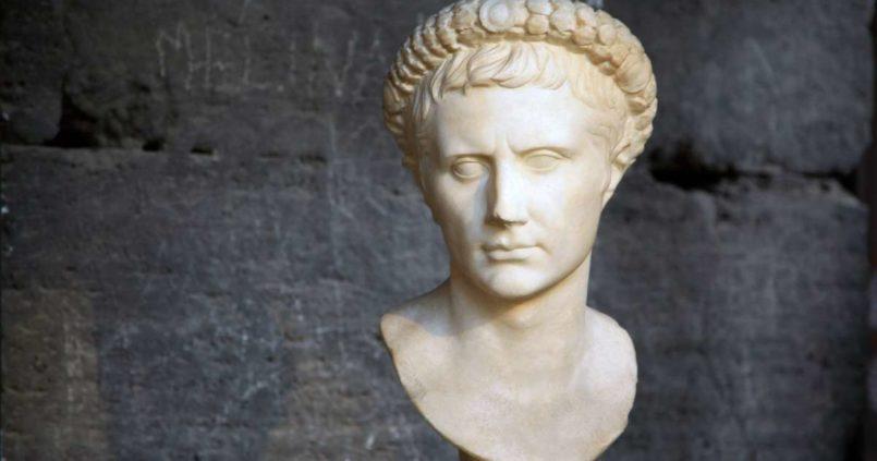 Roma İmparatoru Octavius Augustus